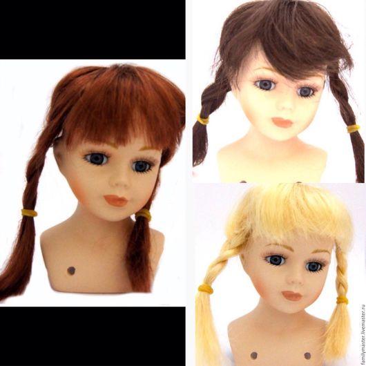 Куклы и игрушки ручной работы. Ярмарка Мастеров - ручная работа. Купить Парик п30 объем 13см. Handmade. Парик для куклы