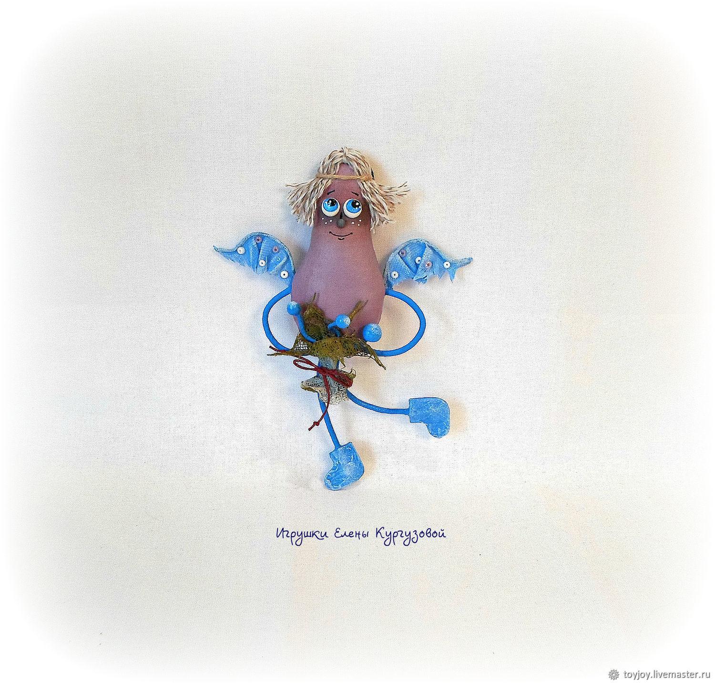 Сказочные персонажи ручной работы. Ярмарка Мастеров - ручная работа. Купить Ангелы Вам в помощь. Handmade. Ангел, ангелочек