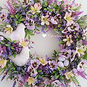 """Цветы и флористика ручной работы. Ярмарка Мастеров - ручная работа Веночек """"Нежный рассвет"""". Handmade."""