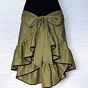 Одежда ручной работы. Ярмарка Мастеров - ручная работа Юбка трансформер. Handmade.