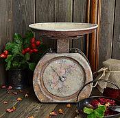 """Для дома и интерьера ручной работы. Ярмарка Мастеров - ручная работа """"Варенье из лепестков роз"""" Весы интерьерные. Handmade."""