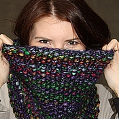 Аксессуары handmade. Livemaster - original item Snood night city Lights. Handmade.