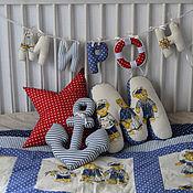 Для дома и интерьера ручной работы. Ярмарка Мастеров - ручная работа Комплект декора в морском стиле. Handmade.