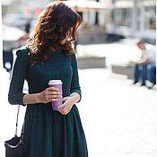 Одежда ручной работы. Ярмарка Мастеров - ручная работа Платье из шотландки MacLeod. Handmade.