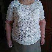 Одежда ручной работы. Ярмарка Мастеров - ручная работа Кофточка из льна. Handmade.
