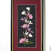"""Картины и панно ручной работы. Ярмарка Мастеров - ручная работа """"Японские мотивы"""". Handmade."""