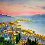 Картины и панно handmade. Livemaster - original item Watercolor landscape