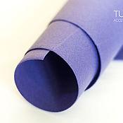Материалы для творчества ручной работы. Ярмарка Мастеров - ручная работа Фетр фиолетовый жесткий 1,2 мм Корея полиэстер. Handmade.
