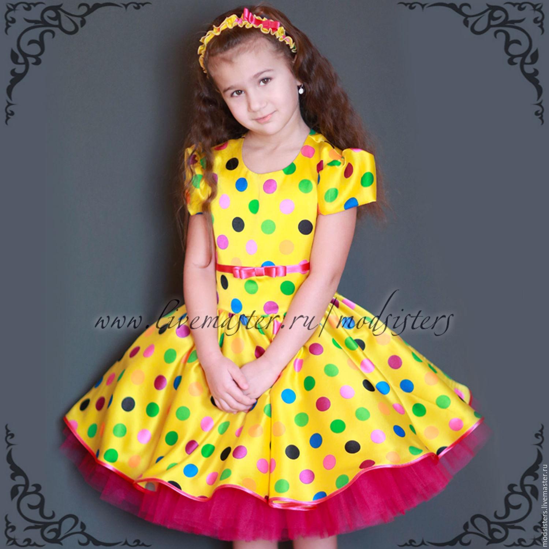 Baby dress 'Colorful season' Art.-459, Childrens Dress, Nizhny Novgorod,  Фото №1