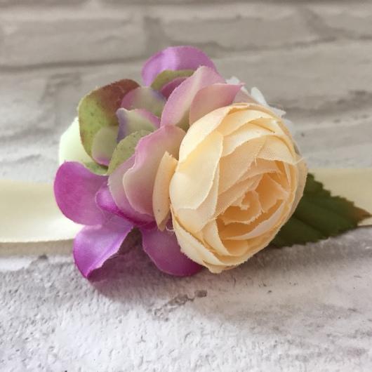 Свадебные аксессуары ручной работы. Ярмарка Мастеров - ручная работа. Купить Браслеты для подружек невесты. Handmade. Девичник, цветы, цветы