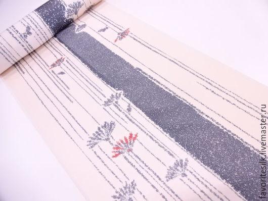 Шитье ручной работы. Ярмарка Мастеров - ручная работа. Купить Шёлк натуральный (Япония). Handmade. Комбинированный, юбка