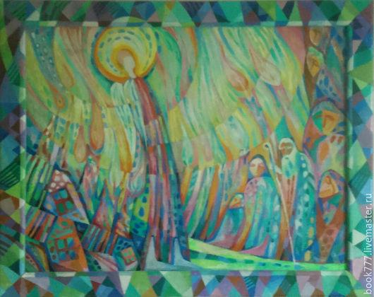 Символизм ручной работы. Ярмарка Мастеров - ручная работа. Купить Рождение Души. Handmade. Мятный, символизм, галерея работ