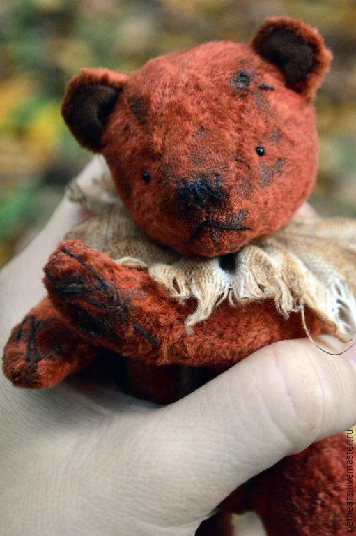 Мишки Тедди ручной работы. Ярмарка Мастеров - ручная работа. Купить Мишка Миша. Handmade. Коричневый, Антикварный плюш