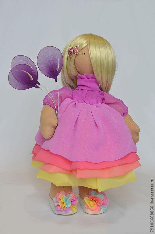 Коллекционные куклы ручной работы. Ярмарка Мастеров - ручная работа. Купить С днем рождения!. Handmade. С днем рождения