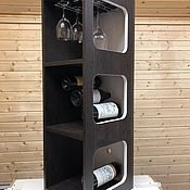 Для дома и интерьера handmade. Livemaster - original item Wine shelf. Handmade.