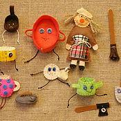 Куклы и игрушки ручной работы. Ярмарка Мастеров - ручная работа Федорино горе ( сказки для детей). Handmade.