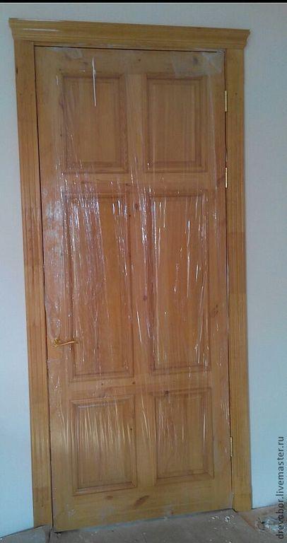 Элементы интерьера ручной работы. Ярмарка Мастеров - ручная работа. Купить дверь филенка. Handmade. Двери, полотна, установка, фурнитура