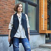 Одежда ручной работы. Ярмарка Мастеров - ручная работа Жилет-камзол в винтажном стиле.. Handmade.