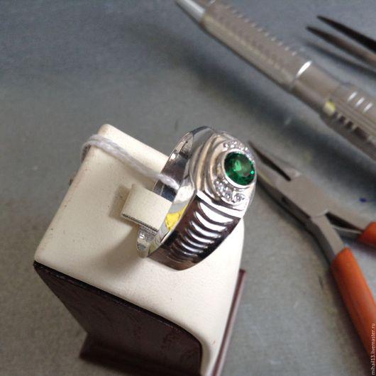 """Кольца ручной работы. Ярмарка Мастеров - ручная работа. Купить Перстень """"Миссия"""". Handmade. Серебряный, перстень мужской, подарок на новый год"""
