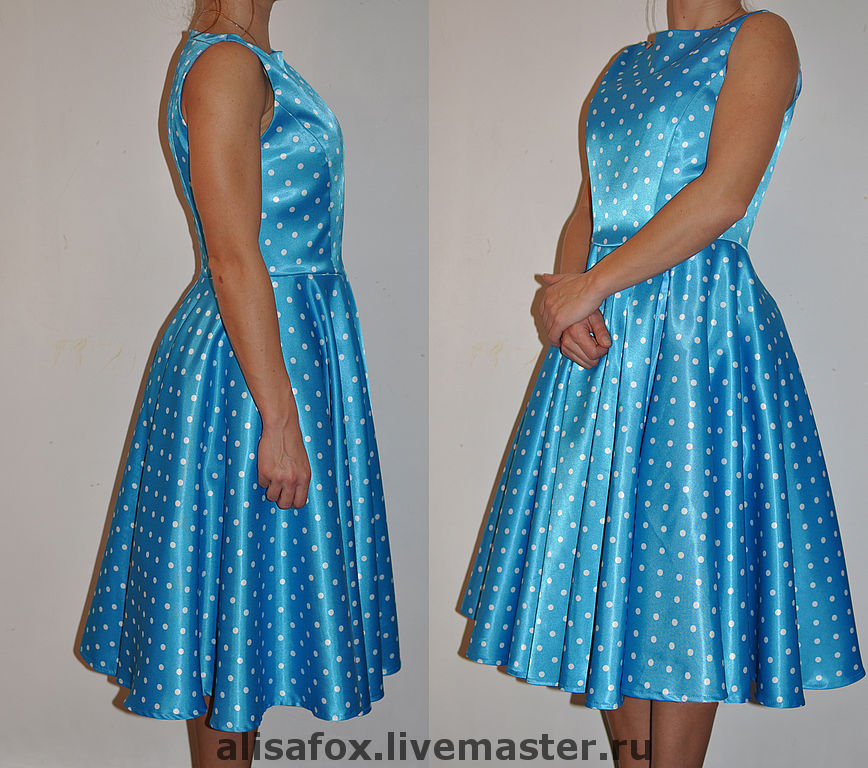 Сшить платье в стили стиляги 179