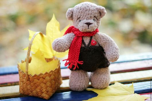 """Игрушки животные, ручной работы. Ярмарка Мастеров - ручная работа. Купить Мишка вязаный"""" Максимка"""" - мишка ручной работы. Handmade."""