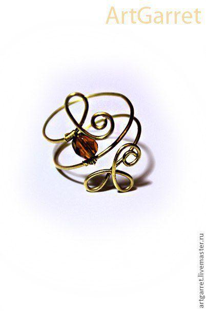 """Кольца ручной работы. Ярмарка Мастеров - ручная работа. Купить Кольцо """"Королева"""" (Art: kc045). Handmade. Кольцо, королева, бусины"""