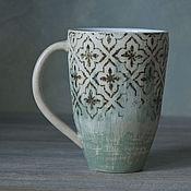 """Посуда ручной работы. Ярмарка Мастеров - ручная работа Кружка """"Старые стены"""". Handmade."""