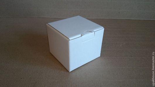 Упаковка ручной работы. Ярмарка Мастеров - ручная работа. Купить маленькая гофрокоробочка. Handmade. Простая упаковка, белый