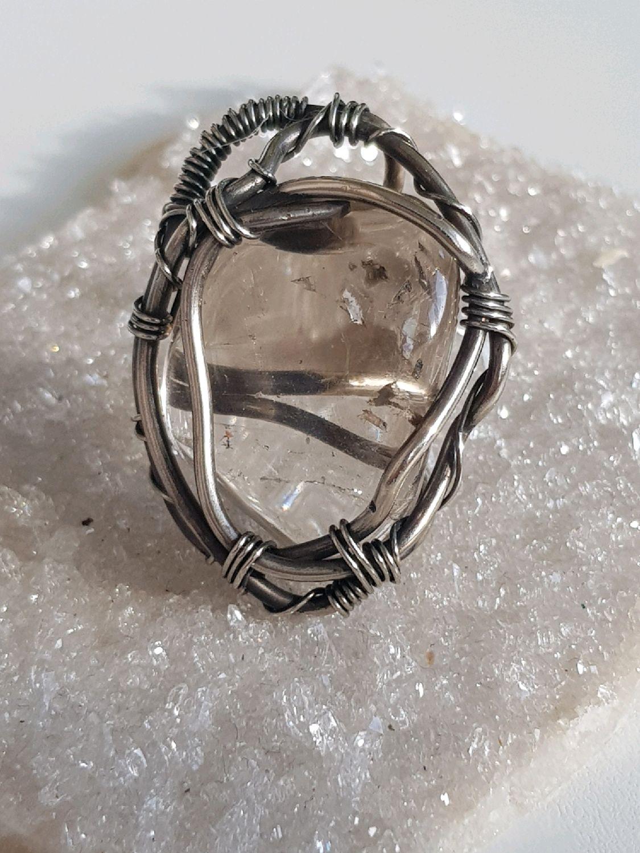 Ring with smoky quartz, Rings, Voronezh,  Фото №1