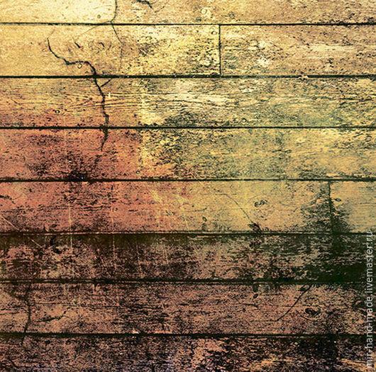 """Открытки и скрапбукинг ручной работы. Ярмарка Мастеров - ручная работа. Купить Бумага для скрапбукинга """"стимпанк"""" дерево 30,5х30,5см """"craft premier"""". Handmade."""