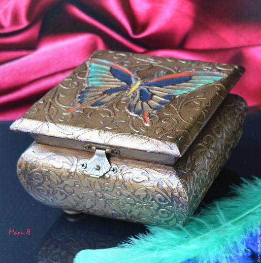 шкатулка бабочка, шкатулка для украшений купить в москве, купить маленькую шкатулку, шкатулка купить в москве, купить подарок девушке, купить подарок жене, подарок шкатулка купить, бабочка арт
