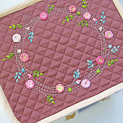 Сумки и аксессуары handmade. Livemaster - original item Road case for cosmetics. Handmade.