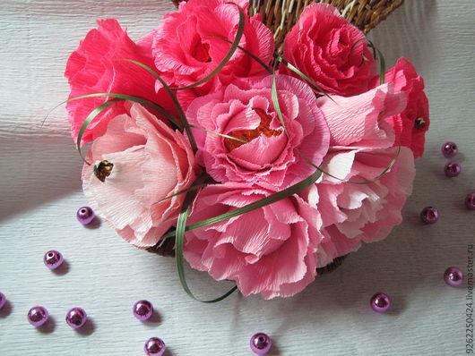Букеты ручной работы. Ярмарка Мастеров - ручная работа. Купить Розы в ракушке. Handmade. Ручная работа, авторская ручная работа