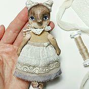 Куклы и игрушки ручной работы. Ярмарка Мастеров - ручная работа Маленькая лиса Полли из дерева. Handmade.
