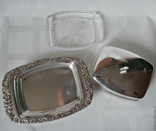 Винтажная посуда. Ярмарка Мастеров - ручная работа. Купить Маслёнка Англия. Handmade. Масленка, для масла