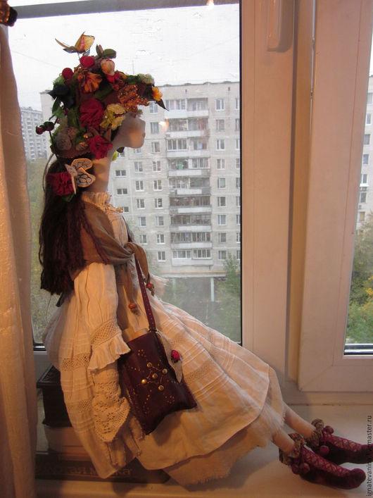 Коллекционные куклы ручной работы. Ярмарка Мастеров - ручная работа. Купить Кукла Сказка странствий. Handmade. Бежевый, подарок