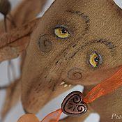 Куклы и игрушки ручной работы. Ярмарка Мастеров - ручная работа Ароматизированная игрушка Серенький волчок. Подвеска.. Handmade.