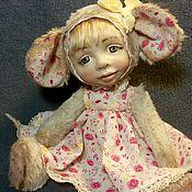 """Куклы и игрушки ручной работы. Ярмарка Мастеров - ручная работа Мышка """"Маруська"""". Handmade."""