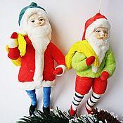 Christmas decorations handmade. Livemaster - original item Dwarf cotton toy. Handmade.