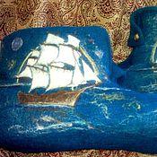 Обувь ручной работы. Ярмарка Мастеров - ручная работа О море, море.... Handmade.