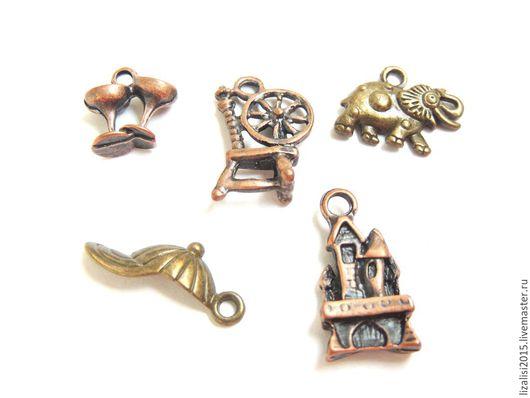Для украшений ручной работы. Ярмарка Мастеров - ручная работа. Купить Подвески под бронзу и старинную медь малые. Handmade.