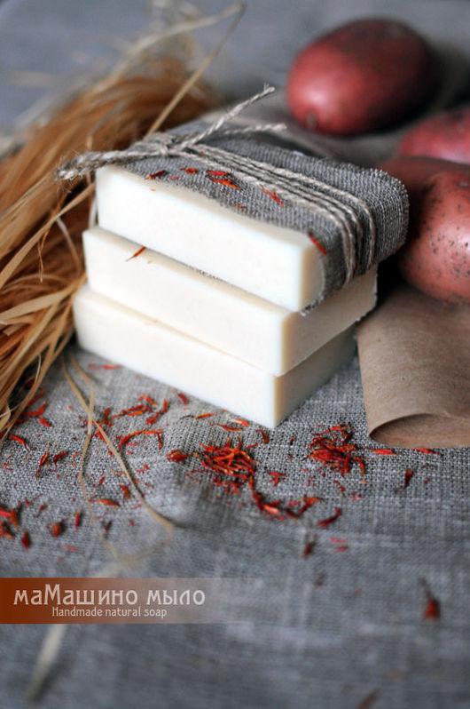 Монастырское картофельное мыло, натуральное мыло, мыло с нуля, маМашино мыло, молочное мыло, мыло на козьем молоке, полезное мыло
