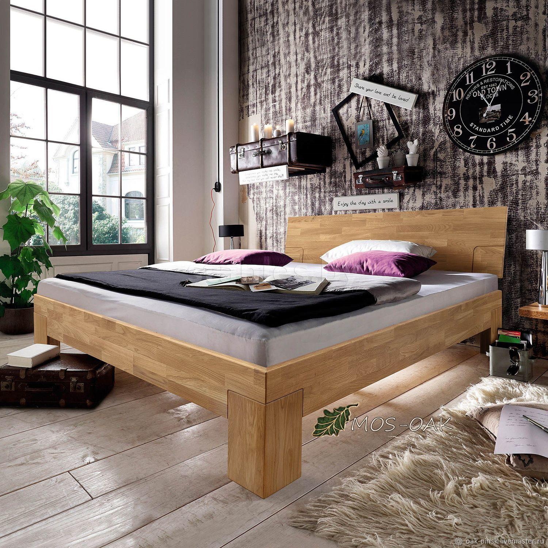 Кровать Sarah из массива дуба, Кровати, Пинск,  Фото №1