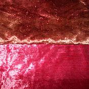 Материалы для творчества ручной работы. Ярмарка Мастеров - ручная работа Плюш винтажный. Handmade.