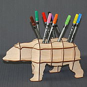 Канцелярские товары handmade. Livemaster - original item bear. Handmade.