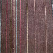 Материалы для творчества ручной работы. Ярмарка Мастеров - ручная работа Ткань лен 100% Цветные полоски. Handmade.