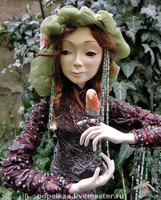 Коллекционные куклы ручной работы. Ярмарка Мастеров - ручная работа. Купить Дриада. Handmade. Коллекционная кукла, интерьерная кукла