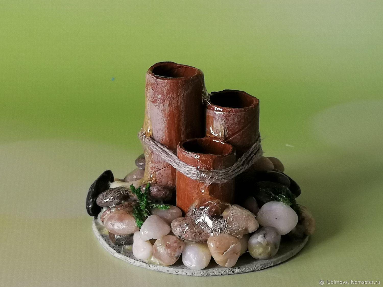 Toy Miniatures handmade. Livemaster - handmade. Buy Mini fountain for Japanese mini garden.Japan, dolls and toys
