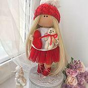 Куклы и пупсы ручной работы. Ярмарка Мастеров - ручная работа Игровая текстильная кукла. Handmade.