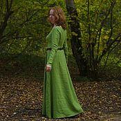 """Одежда ручной работы. Ярмарка Мастеров - ручная работа Платье """"Green leaves"""". Handmade."""